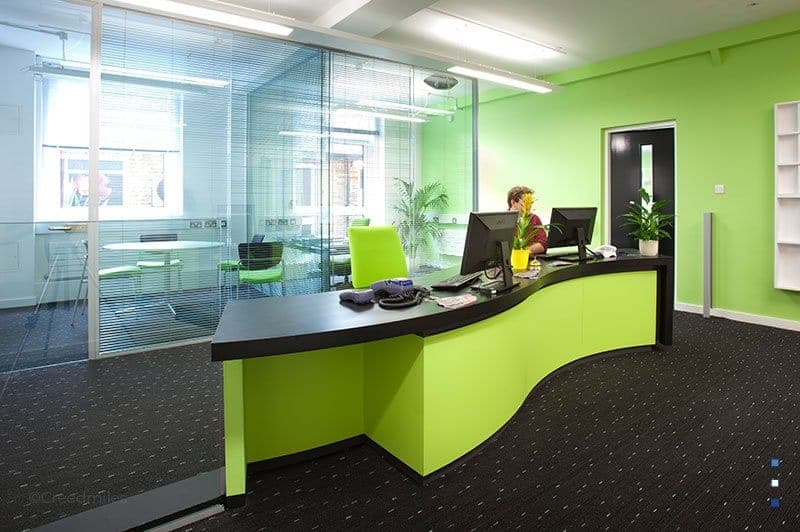 Furniture-Case-Study-Bespoke-green-reception-counter-london-feature