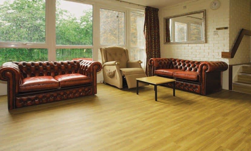 Safety-Vinyl-care-home-lounge